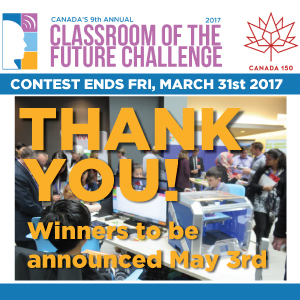 Canada 150 Classroom of the Future Challenge